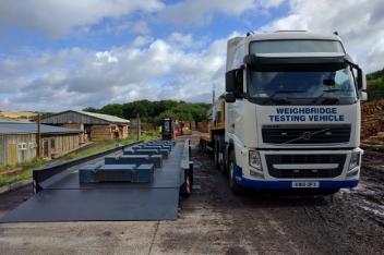 weighbridge testing vehicles